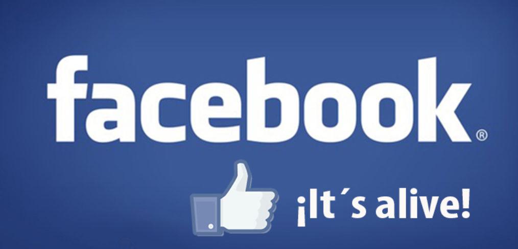 Facebook más vivo que nunca