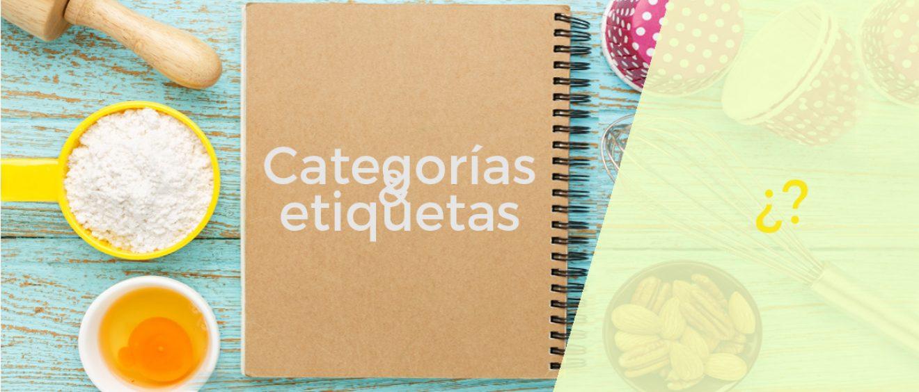 categorias y etiqueto en el SEO