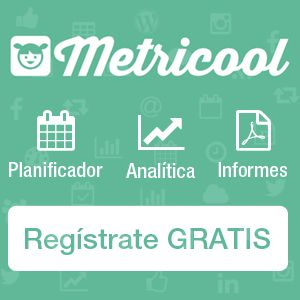 Regístrate en Metricool