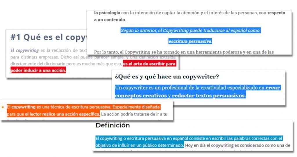 definicion de copywriting